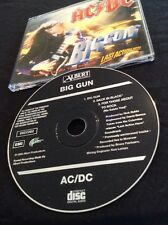 AC/DC BIG GUN CD AUSTRALIA  ALBERT PRODUCTIONS EMI 8822382 Not the common SONY