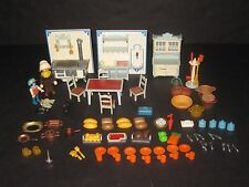 Playmobil Victorian Dollhouse Kitchen Furniture Toy Lot