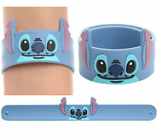 NEW Disney LILO & STITCH Alien Die-Cut Rubber Slap Bracelet Wristband Jewelry