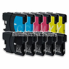 11 Pack NEW LC61 Ink Cartridges for brother printer LC61BK LC61C LC61M LC61Y