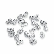 20pcs of 925 Sterling Silver Back Locks Supply Parts for Post Earrings (# BL-20)