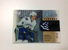 2015-16 upper deck ice hockey J.McCann fresh threads 09/10