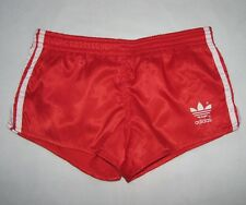 Adidas shorts oldschool firebird red nylon vintage shorts Adidas