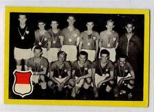 (Gw727-100) Maple Gum, Holland, RARE Football Teams, #18 DENMARK 1960 VG-EX