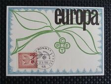BUND MK 1967 484 EUROPA CEPT MAXIMUMKARTE CARTE MAXIMUM CARD MC CM c4945