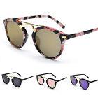 Women's Retro Mirror Designer UV400 Outdoor Sunglasses Eyewear Eye Glasses