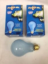 Day Brite 150W A21 Frost Neodymium Reptile Pet Heat Full Spectrum Light Bulb 2pc