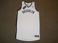 Brooklyn Nets White Blank Adidas Rev 30 Authentic Jersey sz L +2 Mens w/ Tags NY