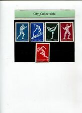 5 PCS OLYMPIC SPORTS * 1972 RUSSIA CCCP BOXING/FENCING ETC * UM # S440