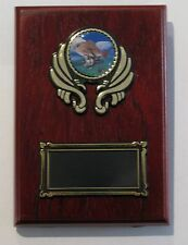 Fishing  Trophy / Wooden  Plaque 125x90mm  Engraved FREE