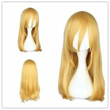 "Cosplay Wig Party Wig Synthetic 55cm/21.7"" for Attack on Titan-Krista Lenz Gold"