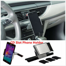 360° Universal Car CD Slot Holder Mount For Mobile Phone iPhone Samsung Sat Nav