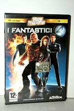 I FANTASTICI 4 GIOCO USATO OTTIMO PC DVD EDIZIONE ITALIANA MAXIMA 17575