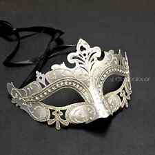 Women Venetian Silver Gold Masquerade Costume Halloween Ball Prom Party Mask