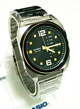Casio Men's Watch New Model Analog Quartz MTF-117BD-1A Day Date Stainless steel