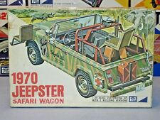 "MPC 1970 JEEPSTER ""SAFARI WAGON"" #2070-200 1/25 70 AMT NICE BUILDER MODEL KIT"