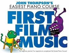 John Thompson First Film Music Learn to Play Childrens Beginner EASY Piano Book
