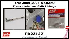 1/12 Honda NSR250 Transponder & Shift Linkage set by Top Studio TD23122