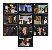 STAR WARS GALACTIC FILES SERIES 2 CLASSIC LINES SET (10)