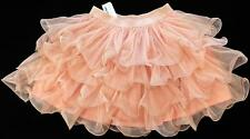KARLIE Ballerina Tulle Tiered Ruffle Skirt Curly Twirly Twisty ~ 8-10 M NWT ls