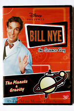 Disney Bill Nye The Science Guy Space The Planets and Gravity Educational DVD