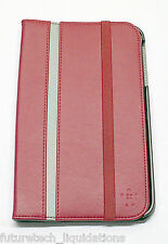 BELKIN CINEMA STRIPE FOLIO CASE SAMSUNG GALAXY TAB 3 8-INCH (RED) - F7P137TTC00