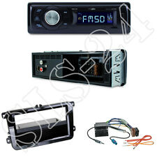 Caliber RMD021 Autoradio + VW Sharan II Tiguan Touran Blende + ISO Adapter Set