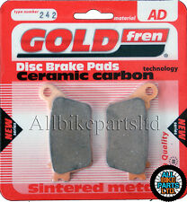 SINTERED CERAMIC REAR BRAKE PADS For HONDA CBR 600 RR (RRB 2011) CBR600RR CBR600