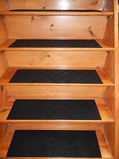 4 =  STEP 8.1/2'' x 35'' 100%  Rubber Outdoor/ Indoor Stair Treads Non Slip