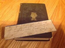 1851 INSCRIBED & SIGNED by Mrs. L.H. Sigourney  THE YOUNG LADY'S OFFERING poetry