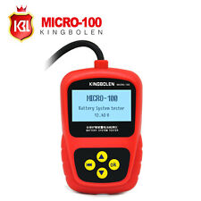 Car Battery Tester MICRO-100 Battery Conductance &Electrical System Analyzer