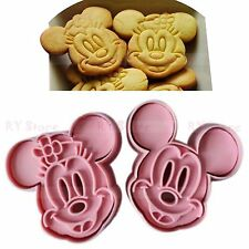 1 Set Cute Mickey Mouse Design Baking Cookie Fondant Cake Biscuit Mold Tools