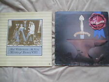 Rick Wakeman Six Wives of Henry VIII LP EX + Myths and Legends of King Arthur