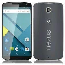 Nexus 6 XT1103 32GB 4G LTE GSM Blue Unlocked Smartphone Crack LCD AS IS