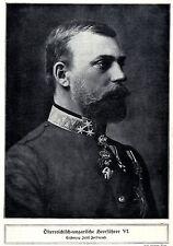 Österreich-ungarische Heerführer im 1.Weltkrieg / WW I (07) * antique print 1918