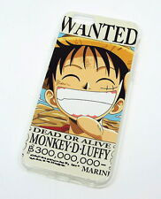 One Piece D.Luffy Ruffy Anime iPhone 6/6s Case Hülle Schutzhüll​e Backcover