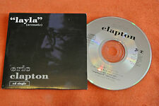 CD ERIC CLAPTON LAYLA TEARS IN HEAVEN ACOUSTIC SINGLE 3 TITRES TRACKS