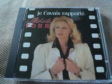 """RARE! CD """"JE T'AVAIS RAPPORTE"""" Michele TORR / 10 TITRES"""