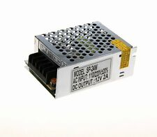 Universal 12V 2A 24W AC/DC Voltage Converter Regulated Switch LED Power Supply