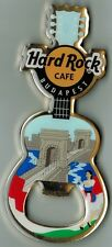 Hard Rock Cafe BUDAPEST Bridge Guitar Bottle Opener Magnet - HTF
