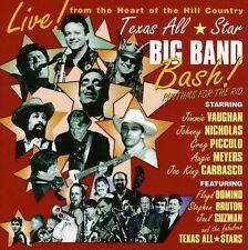 TEXAS ALL STARS-BIG BAND BASH! (JOHNNY NICHOLAS, GREG PICOLLO, UVM...)  CD NEU