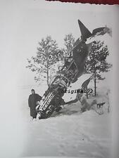 Foto mit Flugzeug,Russisches Flugzeug 2.WK