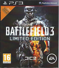 BATTLEFIELD 3 LIMITED EDITION for Playstation 3 PS3 - with box & manual