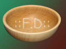 Wooden Bowl 22 cm  Very solid - stylih decoration kitchen