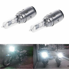 2pcs Motorcycle DC 12V 35W BA20D Headlight Halogen Xenon Bulb White Light