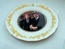 1986 COLCLOUGH PLATE FOR THE MARRIAGE OF PRINCE ANDREW AND SARAH FERGUSON