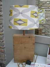 Table Lamp -   Re claimed  Wood / Desk Lamp / Bedside Lamp