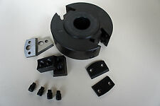 40mm wide 30mm Bore 120mm Dia EURO Spindle Cutter Block FREE CUTTERS & LIMITERS