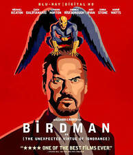 Birdman or The Unexpected Virtue of Ignorance (2014) Like New Blu-ray
