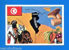 LA TERRA - Panini 1966 - Figurina-Sticker n. 306 - TUNISIA -New